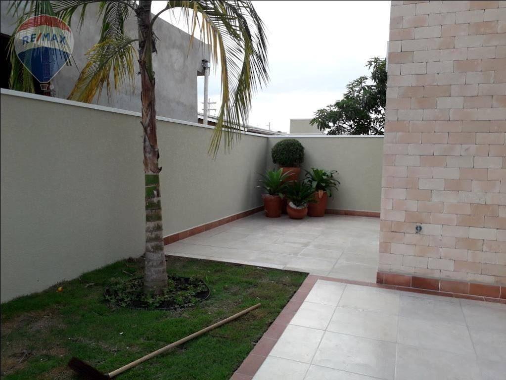Casa com 3 dormitórios à venda, 108 m² por R$ 430.000 - Jardim Maristela - Atibaia/SP