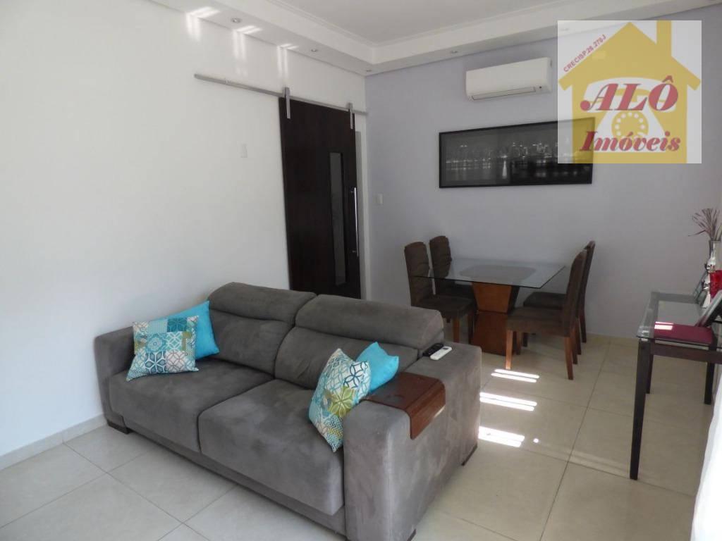 Casa à venda, 98 m² por R$ 550.000,00 - Campo Grande - Santos/SP