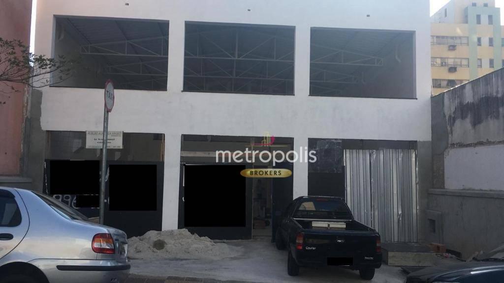 Galpão para alugar, 210 m² por R$ 12.000,00/mês - Santo Antônio - São Caetano do Sul/SP