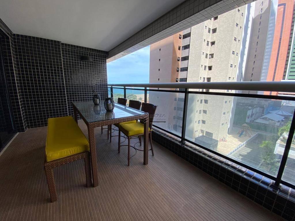 Apartamento com 2 dormitórios para alugar, 66 m² por R$ 250/dia - Meireles - Fortaleza/CE
