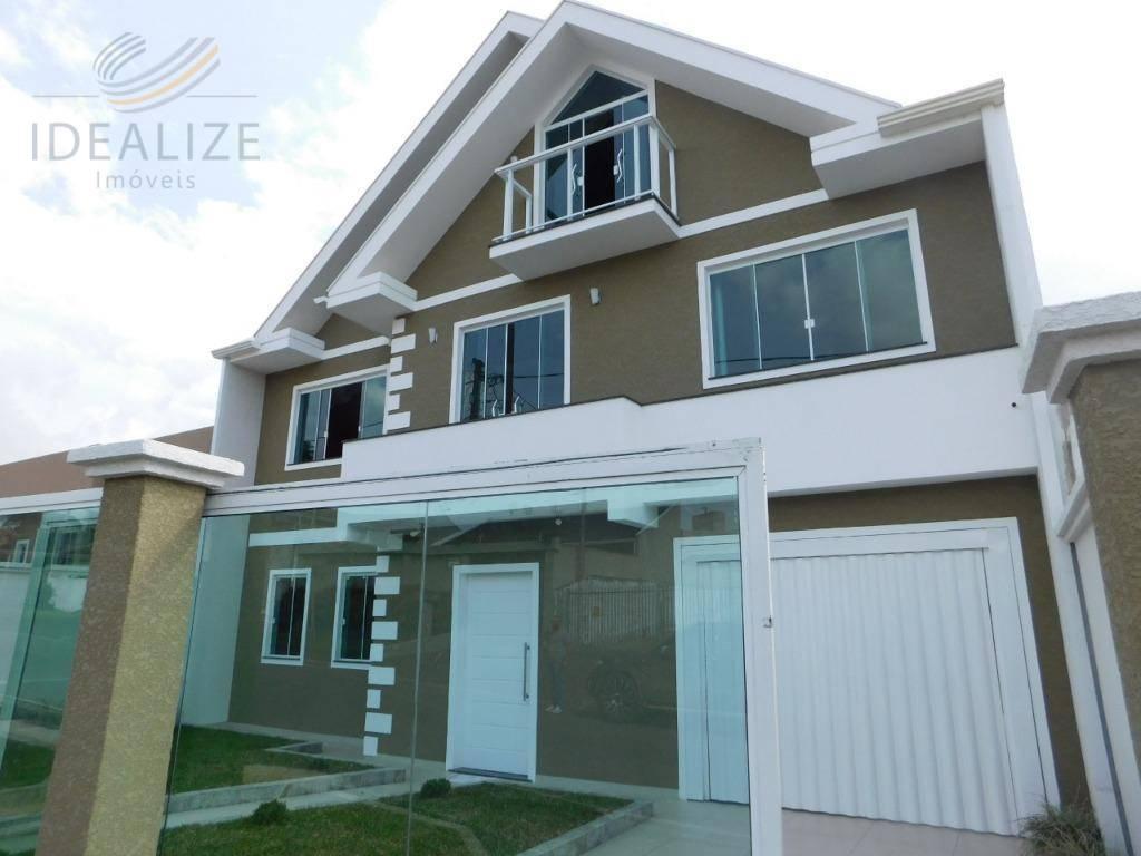 Sobrado residencial à venda, Vila Ipanema, Piraquara.