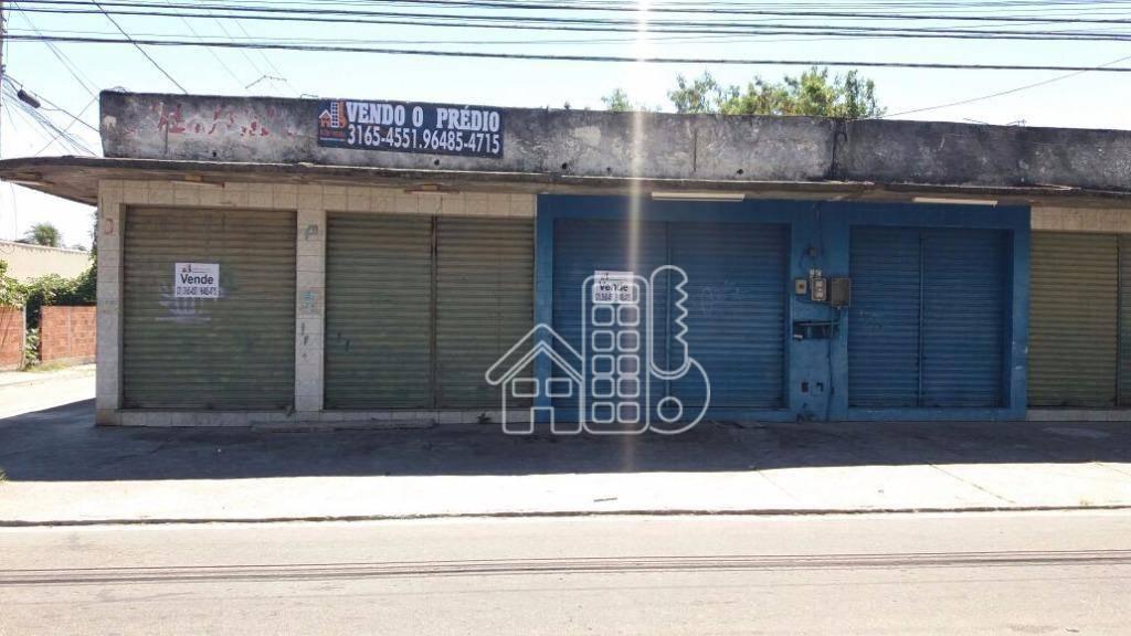 Loja comercial à venda, Jardim Catarina, São Gonçalo.