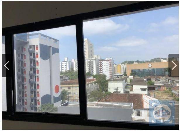 Sala à venda, 65 m² por R$ 165.000 - Itararé - São Vicente/SP