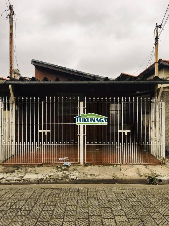 Casa com 2 dormitórios para alugar por R$ 1.400,00/mês - Ponte Grande - Guarulhos/SP