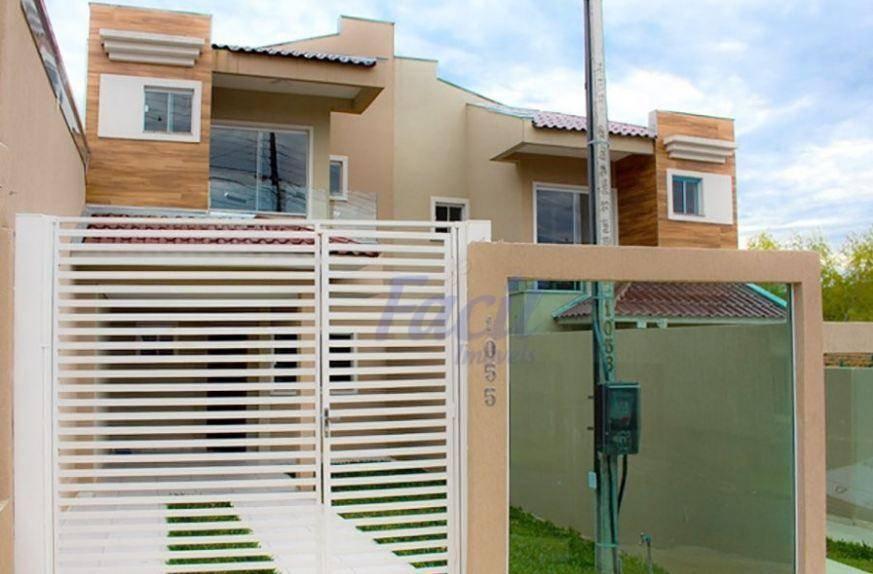 Sobrado residencial à venda, Estrela, Ponta Grossa.