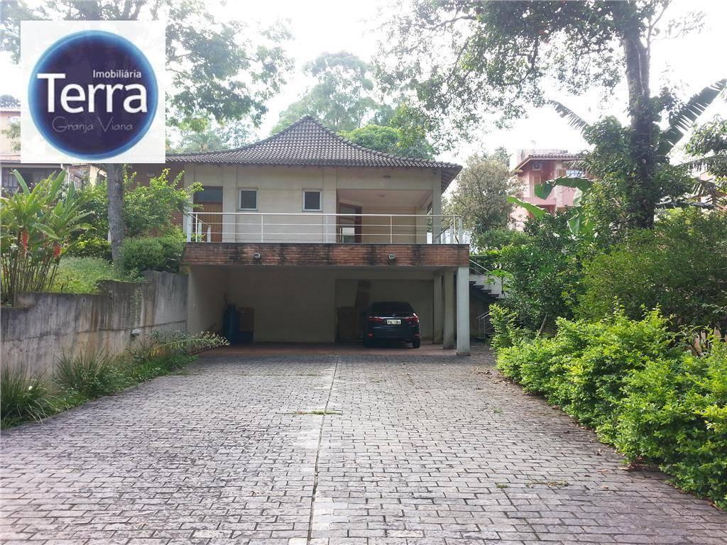 Casa residencial para venda e locação, Chácara dos Lagos, Granja Viana.