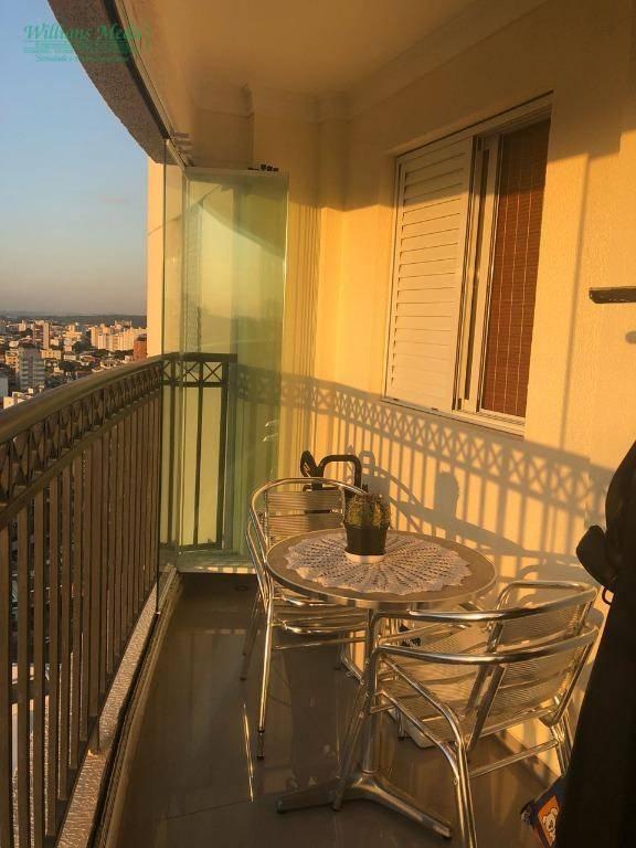 Apartamento 2 suítes, 2 vagas, centro, Guarulhos.