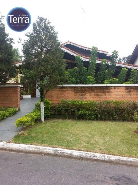 Casa  residencial à venda, Horizontal Park, Granja Viana.