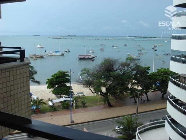 Flat com 1 quarto à venda e locação, 46 m², mobiliado, vista mar - Mucuripe - Fortaleza/CE