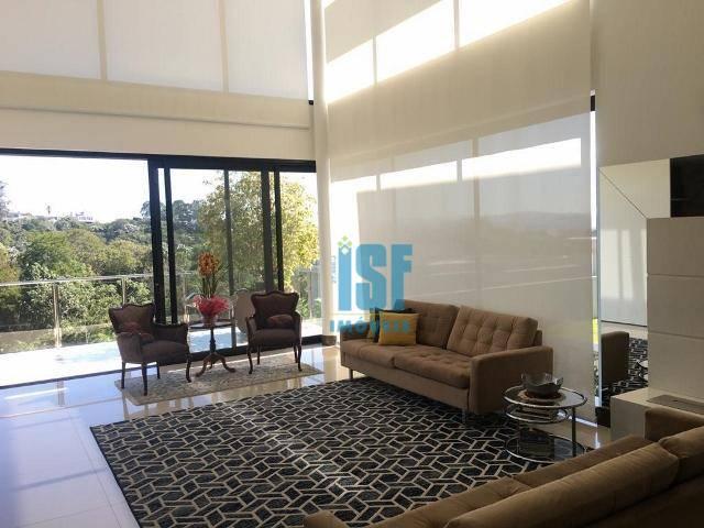 Sobrado com 4 dormitórios à venda, 470 m² por R$ 3.200.000 - Alphaville - Santana de Parnaíba/SP - SO5591.
