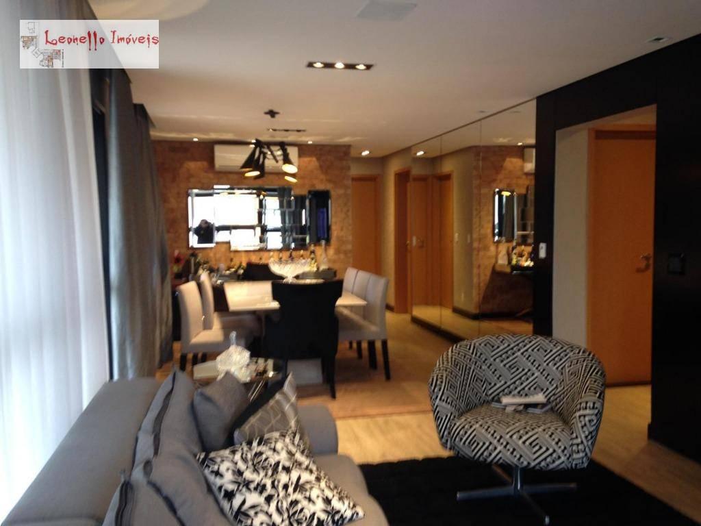 Apartamento com 3 suites à venda, 139 m² por R$ 1.650.000 - Jardim - Santo André/SP