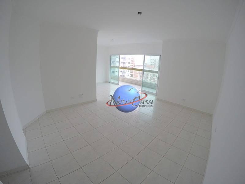 Apartamento com 3 dormitórios para alugar, 132 m² por R$ 2.900/mês - Tupi - Praia Grande/SP