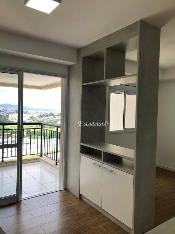 Studio, 39 m² - venda por R$ 370.000,00 ou aluguel por R$ 1.950,00/mês - Jardim Flor da Montanha - Guarulhos/SP