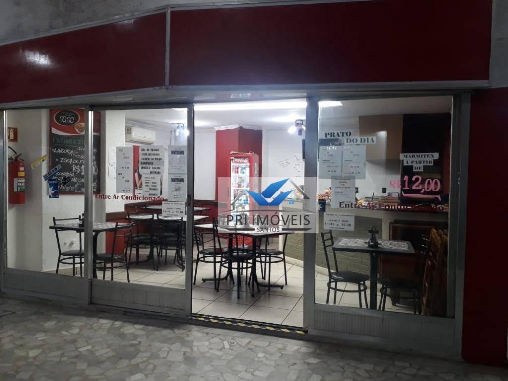 Ponto à venda, 50 m² por R$ 80.000,00 - Gonzaga - Santos/SP