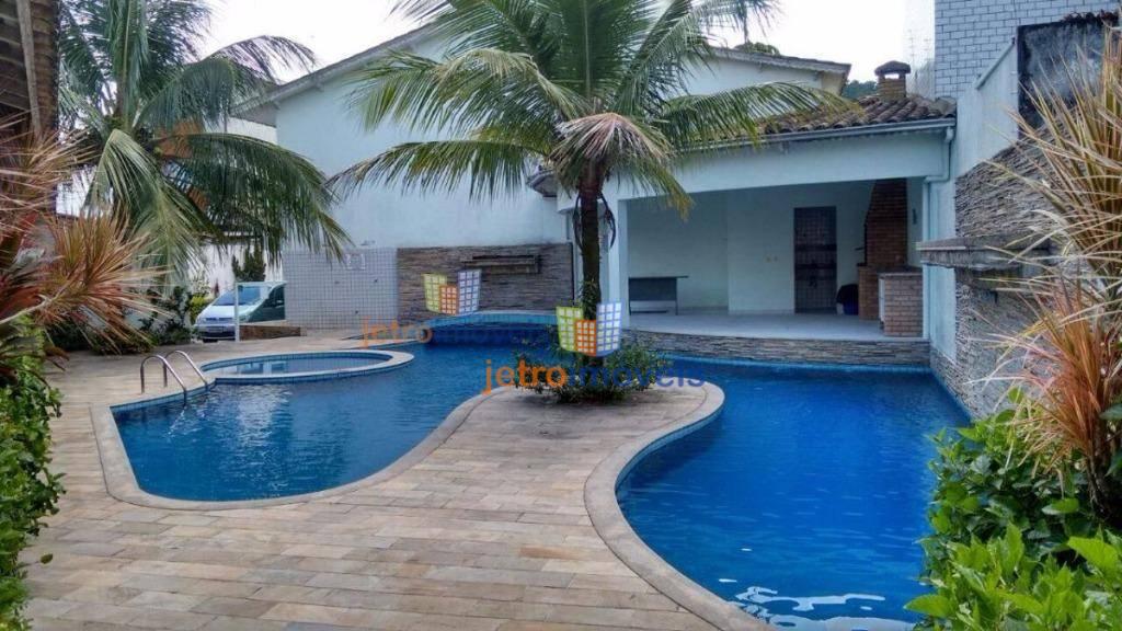 Sobrado com 4 dormitórios à venda, 160 m² por R$ 350.000 - Canto do Forte - Praia Grande/SP