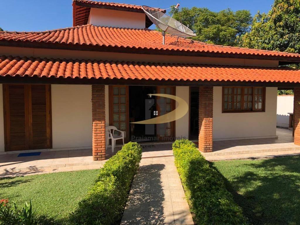 Casa à venda, 457 m² por R$ 1.070.000,00 - Condomínio Fechado Village Haras São Luiz - Salto/SP