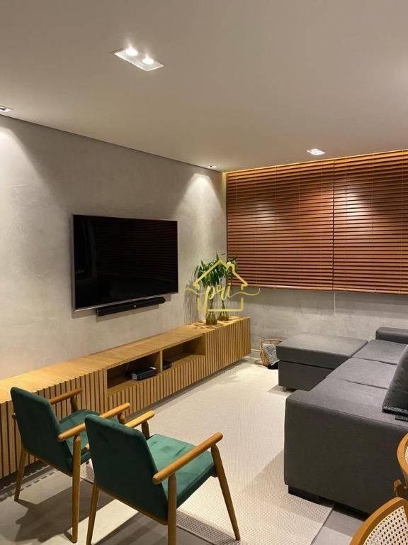 Apartamento à venda, 84 m² por R$ 420.000,00 - Itararé - São Vicente/SP