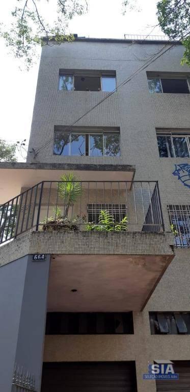 Apartamento com 3 dormitórios para alugar, 100 m² por R$ 3.000/mês - Sumaré - São Paulo/SP