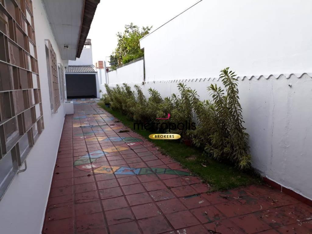 Casa com 3 dormitórios para alugar, 250 m² por R$ 3.000/mês - Osvaldo Cruz - São Caetano do Sul/SP