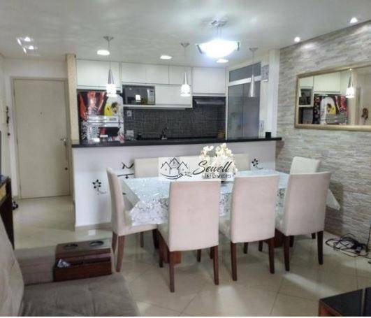 Apartamento residencial, Lazer inacreditável! Vila Helena, Santo André.