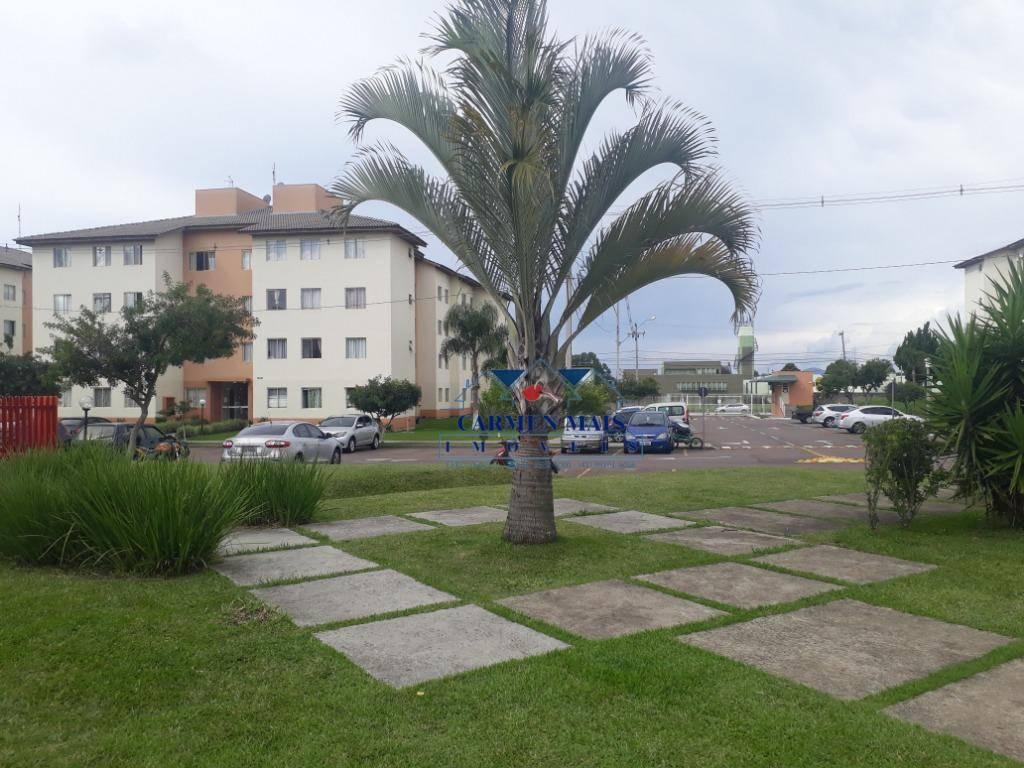 Apartamento com 3 dormitórios para alugar por R$ 800/mês - Afonso Pena - São José dos Pinhais/PR