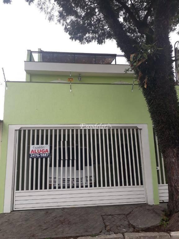 Sobrado residencial para locação, Vila Galvão, Guarulhos.