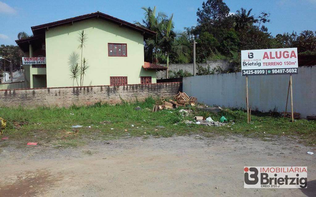 Terreno/Lote para alugar  no Bom Retiro - Joinville, SC. Imóveis