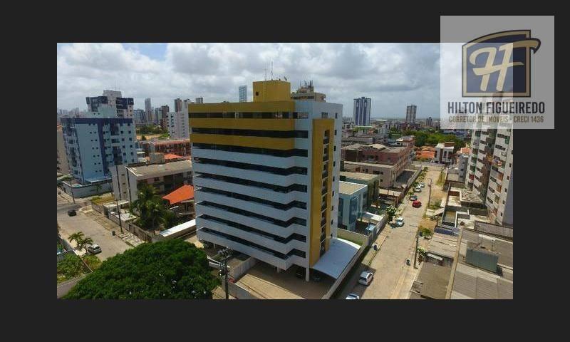 Apartamento com 2 dormitórios para alugar, 68 m² por R$ 1.500/mês - Bessa - João Pessoa/PB
