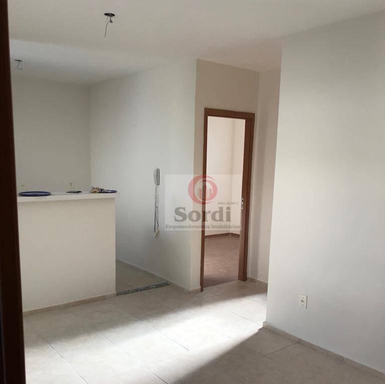 Apartamento com 2 dormitórios à venda, 43 m² por R$ 154.000 - Residencial Jequitibá - Ribeirão Preto/SP