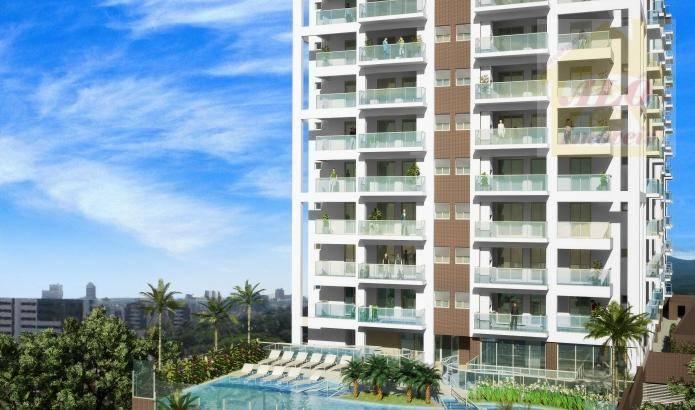 Apartamento com 3 dormitórios à venda, 92 m² por R$ 575.360 - Praia Do Sonho - Itanhaém/SP