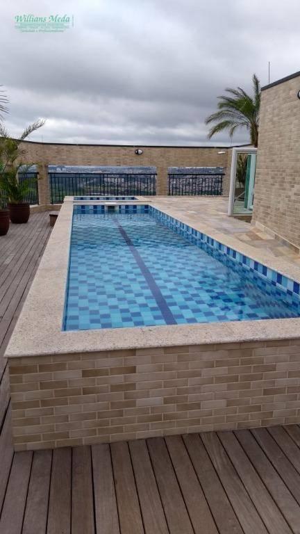 Apartamento com 3 dormitórios à venda, 73 m² por R$ 370.000,00 - Ponte Grande - Guarulhos/SP