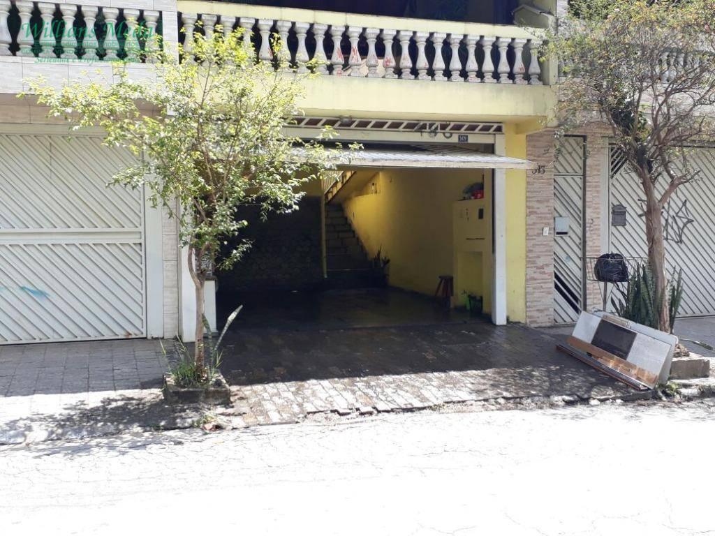 Sobrado residencial à venda, Jardim Rosana, Guarulhos.