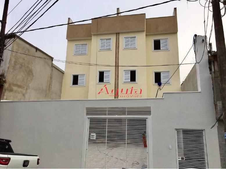 Apartamento com 2 dormitórios à venda, 35 m² por R$ 200.000 - Jardim do Estádio - Santo André/SP