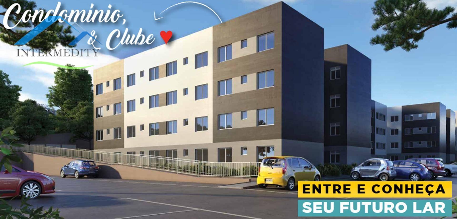 Apartamento com 2 dormitórios à venda, 40 m² por R$ 128.500,00 - Jardim Santo Antônio - Almirante Tamandaré/PR