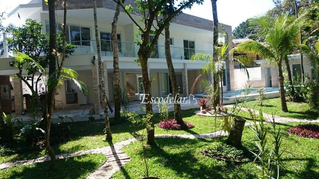 Casa com 5 dormitórios à venda, 460 m² por R$ 3.990.000 - Revieira São Lourenço - Bertioga/SP