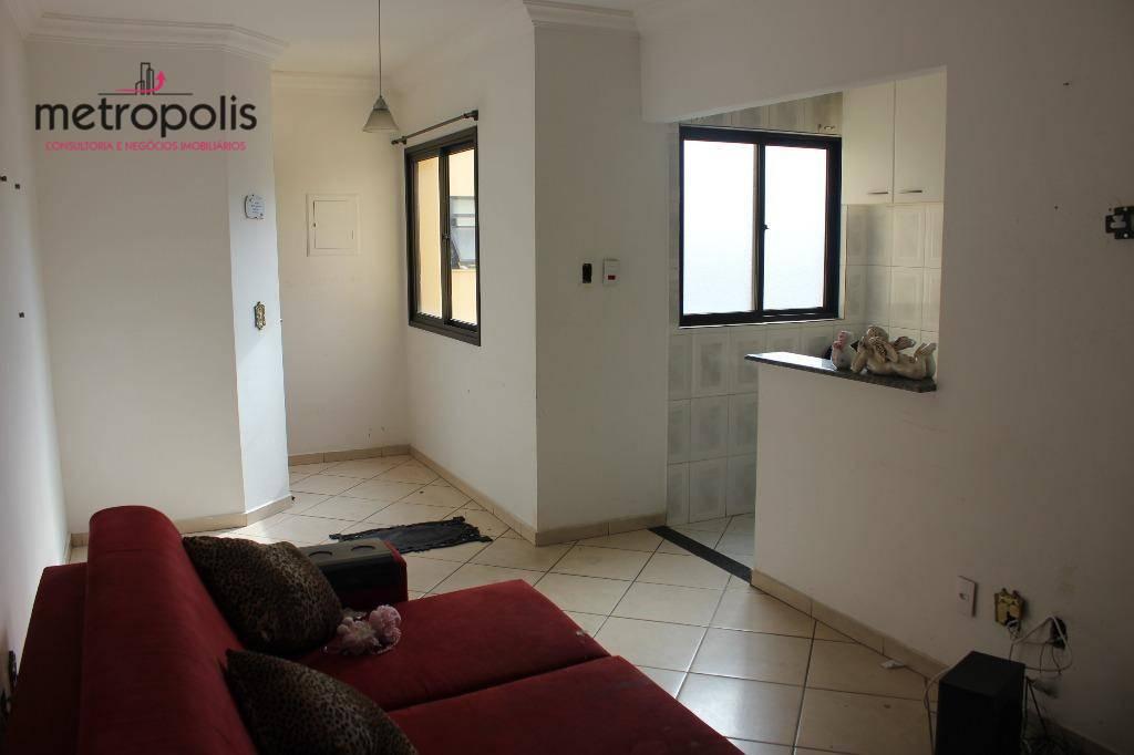 Apartamento residencial para venda e locação, Nova Gerti, São Caetano do Sul - AP1097.