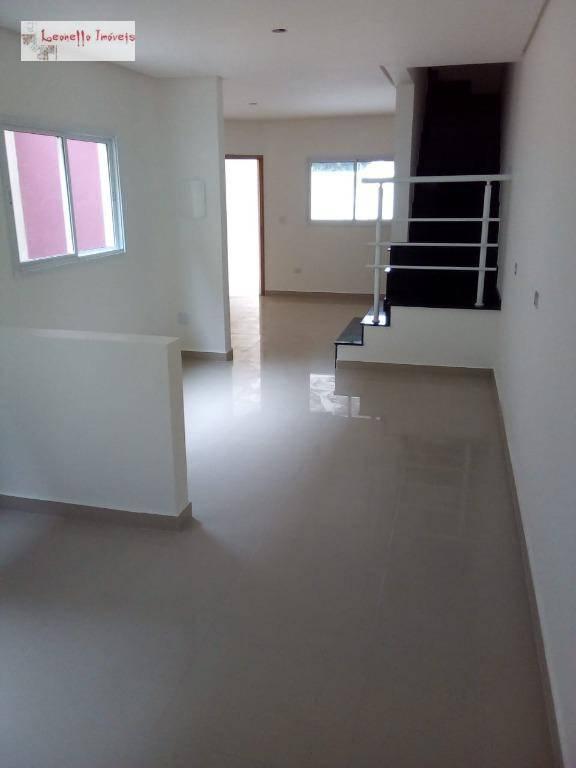 Sobrado com 3 suites à venda, 150 m² por R$ 760.000 - Jardim Vera Cruz - São Bernardo do Campo/SP