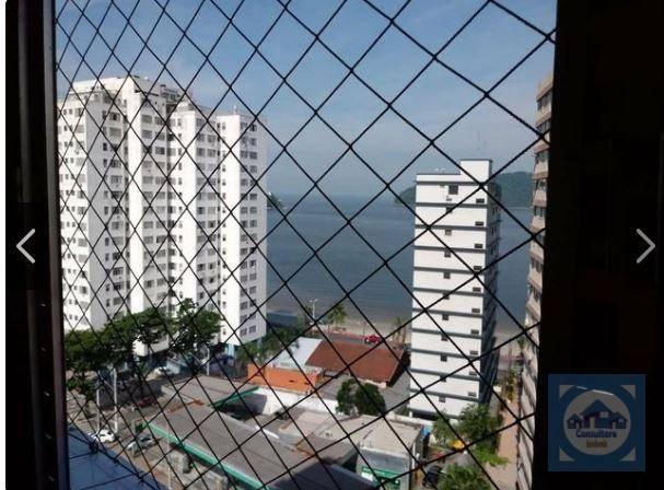 Kitnet com 1 dormitório à venda, 38 m² por R$ 143.000 - Itararé - São Vicente/SP