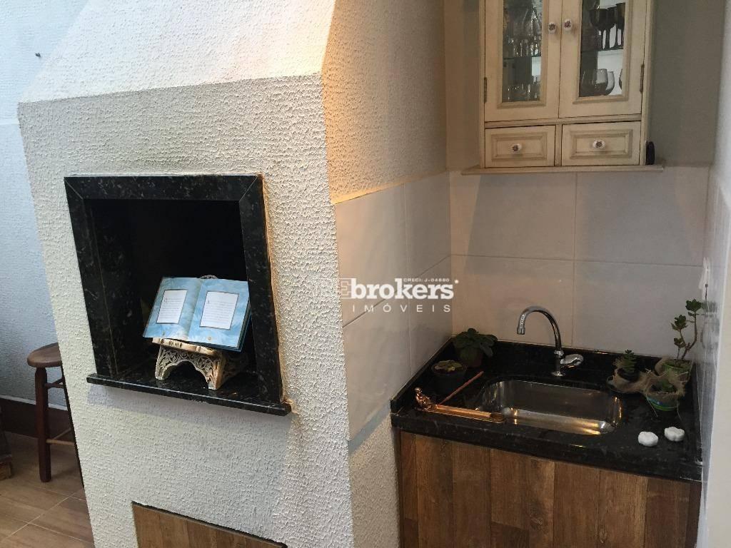REbrokers - Sobrado em condomínio com 3 Quartos, sendo 1 Suíte, 2 Vagas, Santa Cândida, para comprar