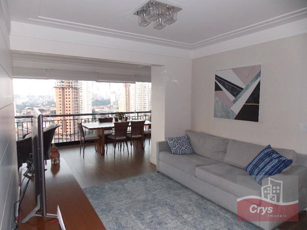 Apartamento com 4 dormitórios à venda, 140 m² por R$ 1.450.000 - Santa Teresinha - São Paulo/SP