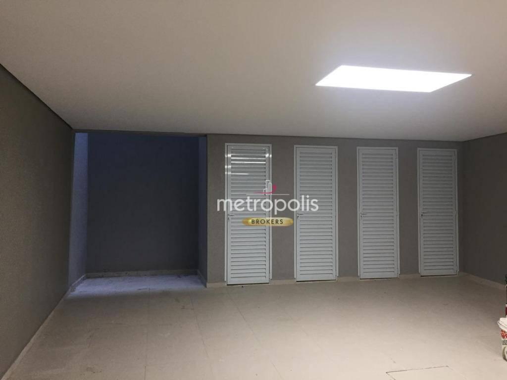 Apartamento com 3 dormitórios à venda, 100 m² por R$ 470.000 - Campestre - Santo André/SP