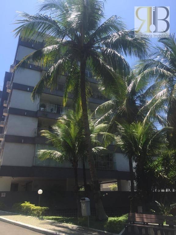 Apartamento com 2 dormitórios para alugar, 85 m² por R$ 2.900/mês - Barra da Tijuca - Rio de Janeiro/RJ