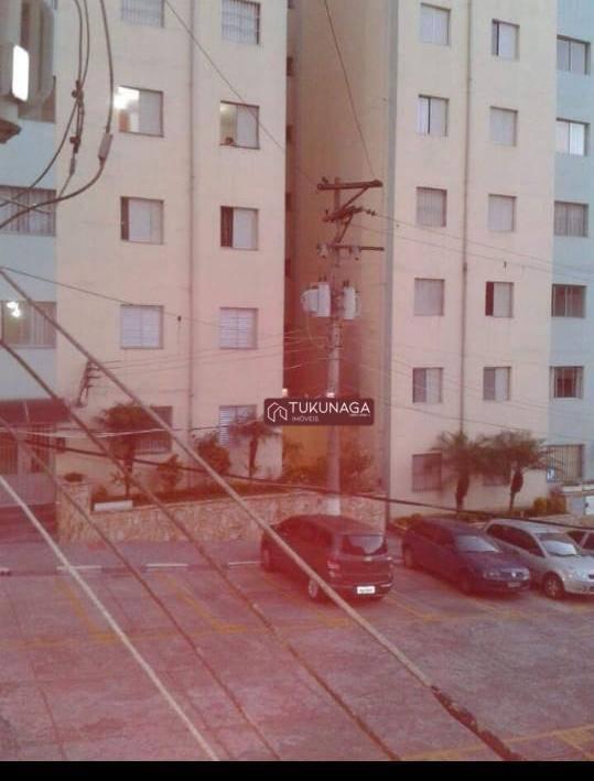 Apartamento com 2 dormitórios para alugar, 68 m² por R$ 1.000,00/mês - Gopoúva - Guarulhos/SP