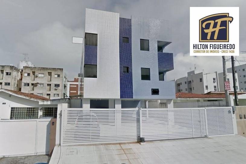 Apartamento com 3 dormitórios para alugar, 73 m² por R$ 1.250,00/mês - Bessa - João Pessoa/PB