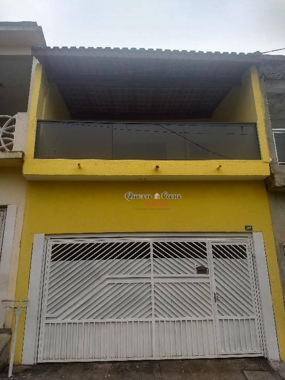 Sobrado residencial à venda, Jardim Oliveira I, Guarulhos.