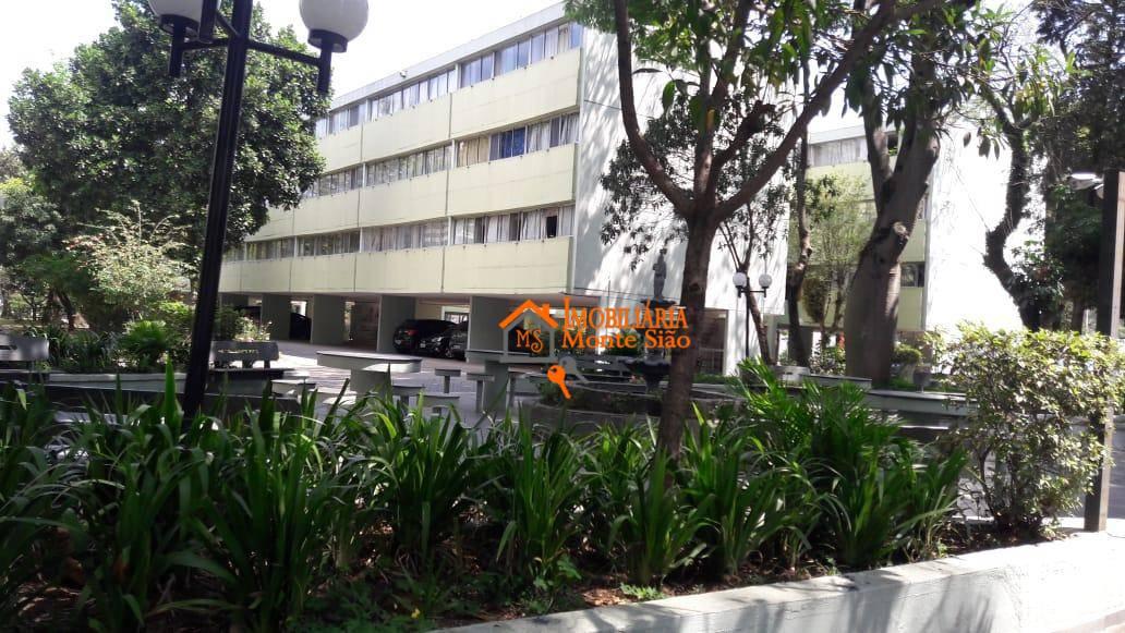 Apartamento no Condomínio Minas Gerais com 2 dormitórios, 63 m²  - Parque Cecap - Guarulhos/SP