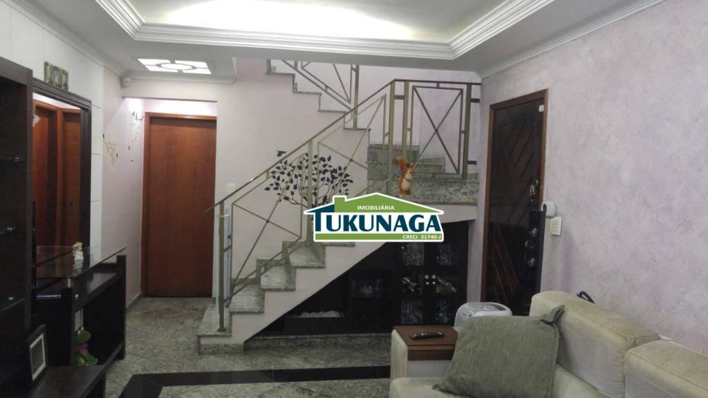 Casa com 3 dormitórios à venda, 210 m² por R$ 750.000 - Parque Renato Maia - Guarulhos/SP