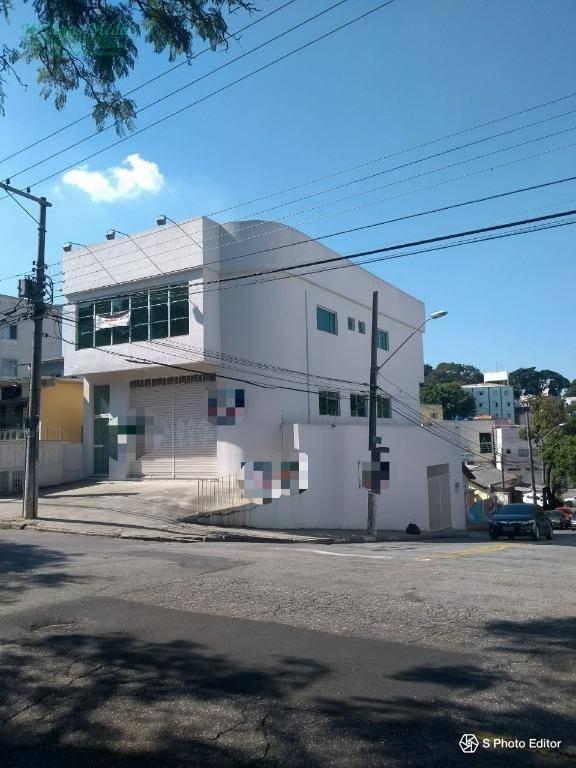 Salão comercial para locação, Parque Renato Maia, Guarulhos.