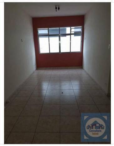 Apartamento com 2 dormitórios para alugar, 72 m² por R$ 1.400/mês - Centro - São Vicente/SP