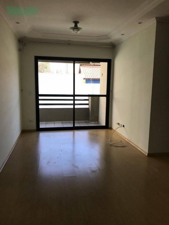 Apartamento residencial para locação, Vila Tijuco, Guarulhos
